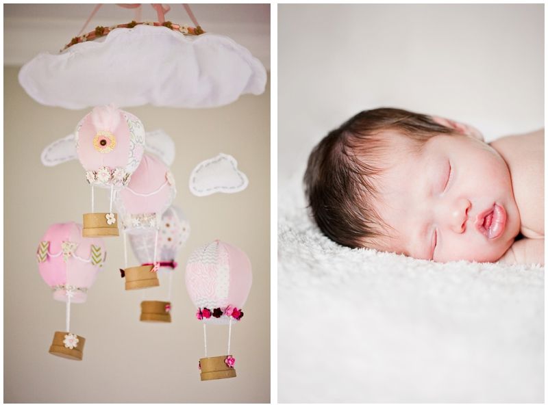Coral Springs Florida Newborn Nursery Photography by ChelseaVictoria.com