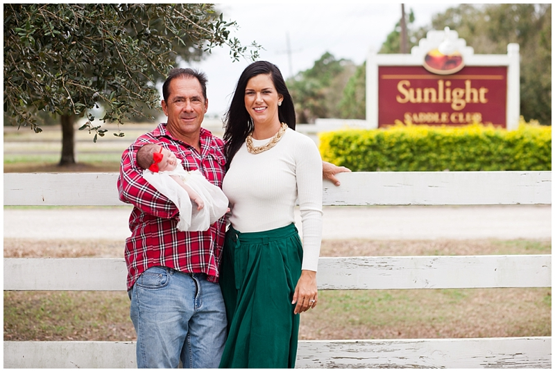 Sunlight Saddle Club Stuart Florida Family Newborn Portraits by ChelseaVictoria.com