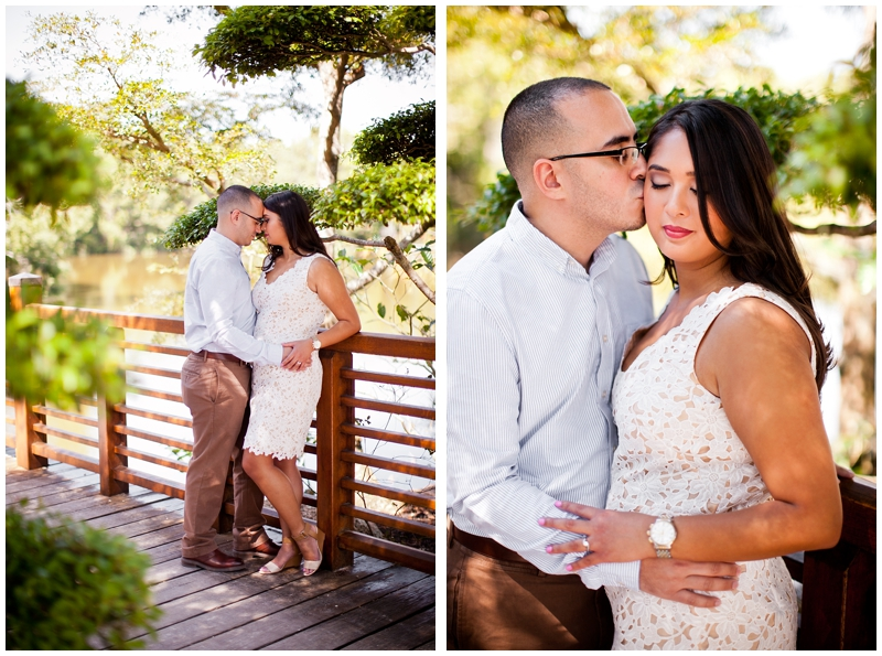 Morikami Museum & Japanese Gardens Engagement Photography by ChelseaVictoria.com
