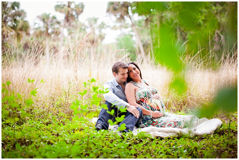 Riverbend Park, Jupiter, Florida Maternity Photography by Chelsea Victoria