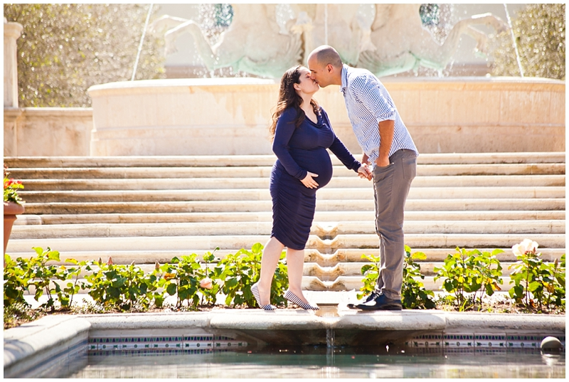 Palm Beach Town Square Memorial Fountain Worth Avenue Clock Tower Florida Maternity Photography by Chelsea Victoria