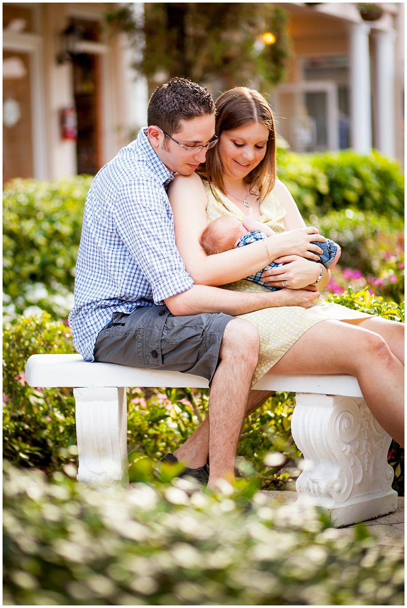 Worth Avenue Palm Beach Florida Family and Newborn Portraits by Chelsea Victoria