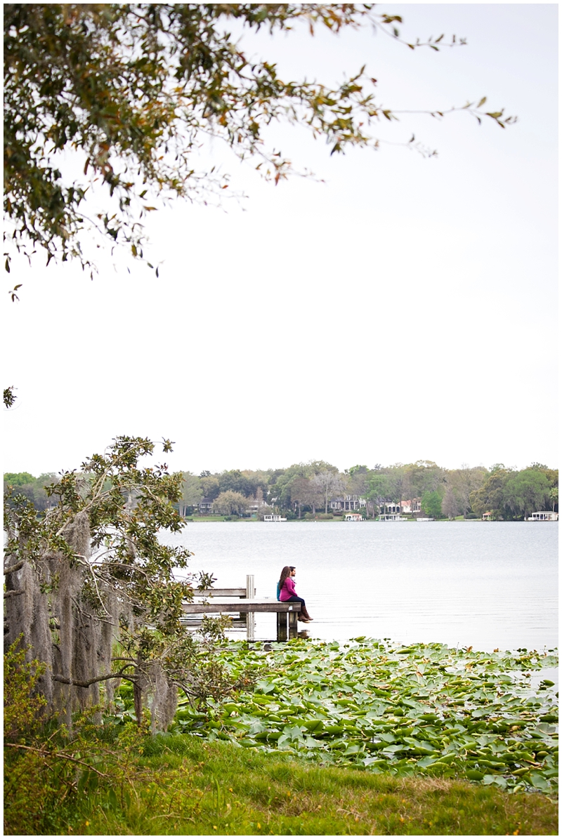 Rollins College, Winter Park, Orlando Maternity Family Portraits by Chelsea Victoria Photography