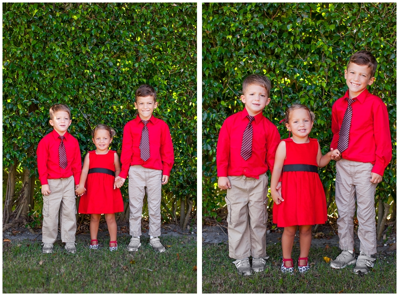 Palm Beach Family Christmas Portraits by ChelseaVictoria.com
